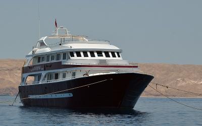 Boat Cassiopeia Red Sea