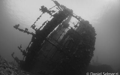 Vörös Tenger Umbria hajó roncs