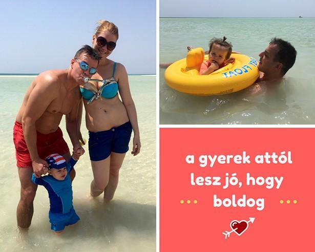 Családi tengerparti nyaralás Egyiptomban