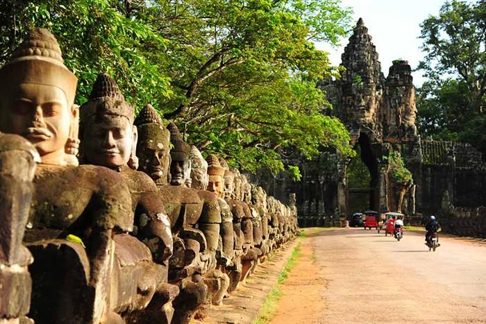 Kambodzsa Angkor Temple in Cambodia