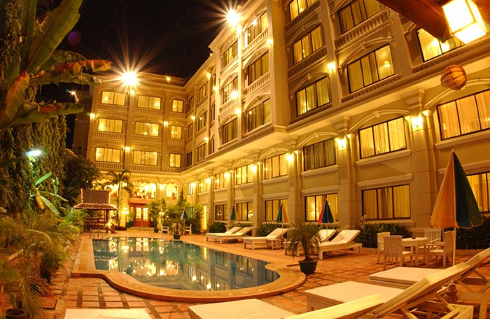 Kambodzsa Siem reap hotel