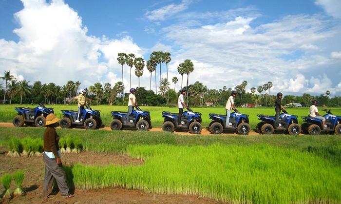 Kambodzsa quad túra