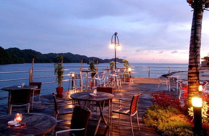 Palau Koror sziget hotel