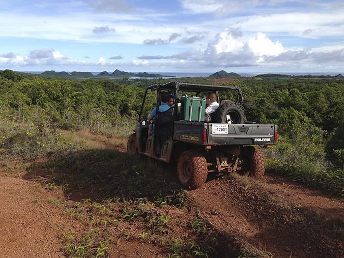 Palau Sziget túra jeep